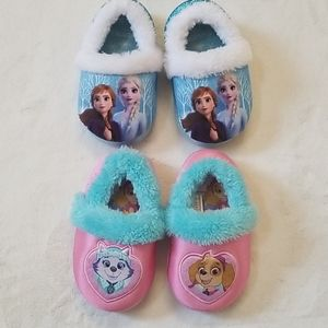 Other - Lot of toddler girl slippers
